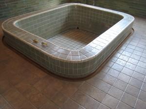 北投文物館の浴場