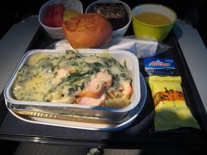 CX564便の機内食