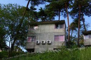 セミナーハウスの宿泊棟(B5)