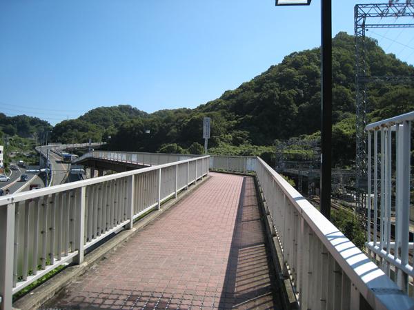 大阪教育大前駅で降りて