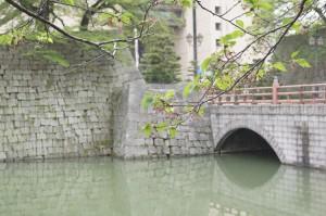 福井城趾のお堀