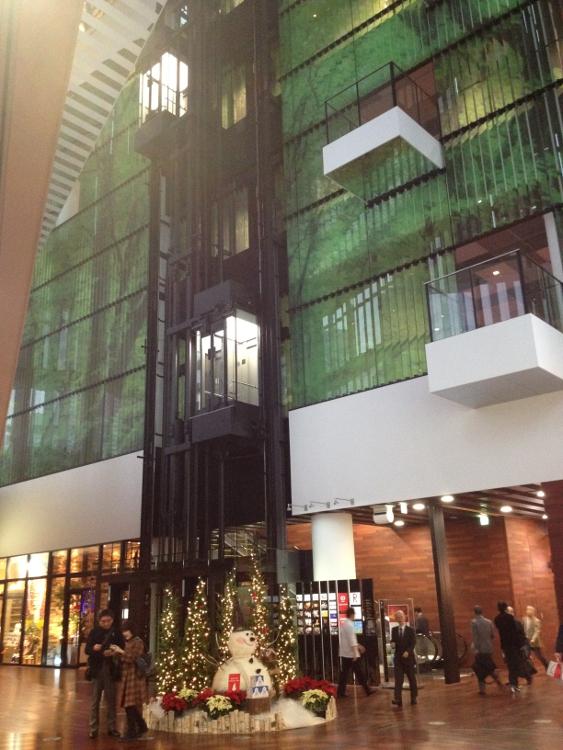 大阪富国生命ビル地下2階(?)