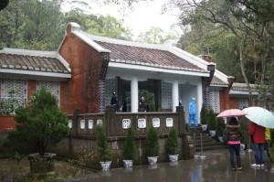 慈湖陵寝の外観