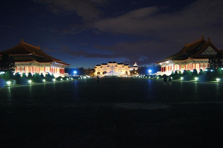 夜の台北(サイレント)
