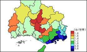 [甲南GIS09]統計地図作成1:階級区分図