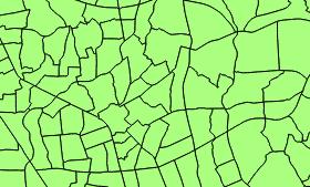 [NA-GIS35]QGIS2.0でバッファ分析 その2