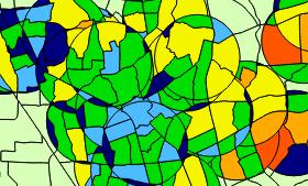 [NA-GIS40]QGIS2.0でバッファ分析 その7