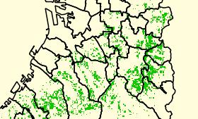 [NA-GIS51]QGIS2.6.1で土地利用細分メッシュデータを使用する その2