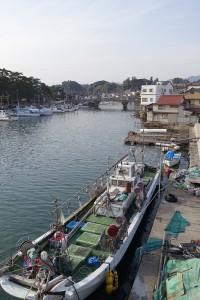 イカ釣り船