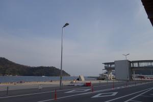 西郷港のフェリーターミナル