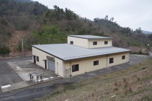 施設や最終処分場から出る水を処理する施設