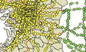 [NA-GIS92]地物の絞り込み(空間検索を利用)