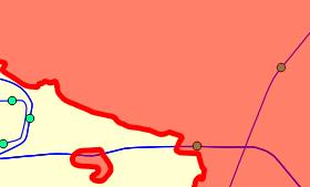 [NA-GIS94]同じ属性値をもつフィーチャを融合(ディゾルブ)